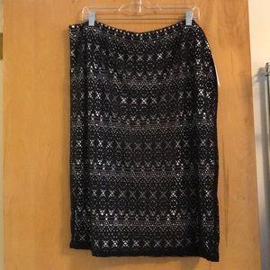 Bisou Bisou women's skirt. NWT